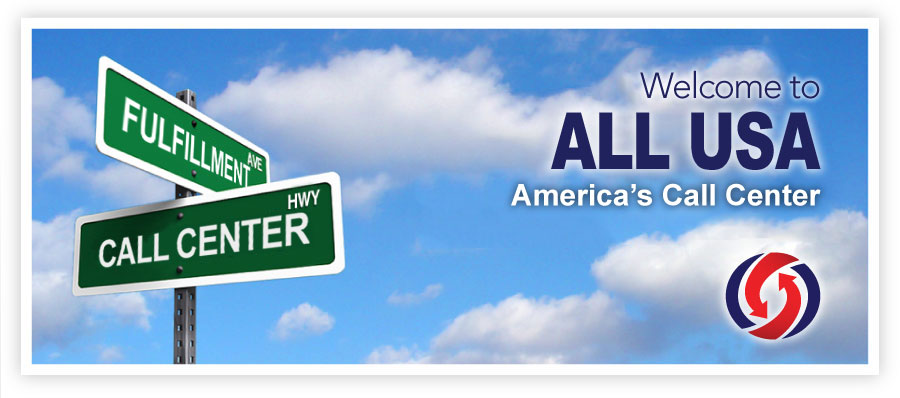 Welcome to All USA Partners, America's Call Center.